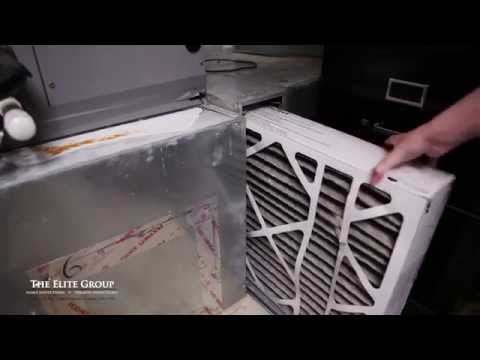 Changing a Furnace Air Filter | The Elite Group Property Inspections