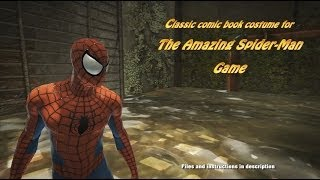 Classic Comic Book Costume For The Amazing Spider-man Game