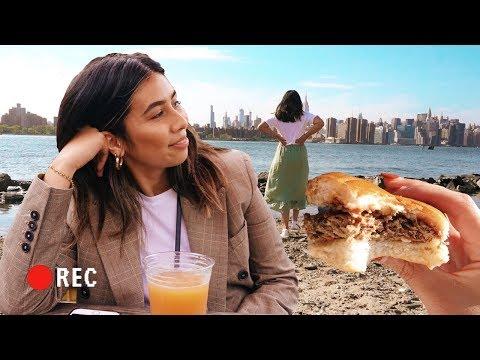 Fun in Brooklyn, A Sofa Finally + Trying THOSE Vegan Burgers! NYC VLOG