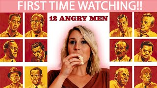 12 ANGRY MEN (1957) | FIRST TIME WATCHING | MOVIE REACTION