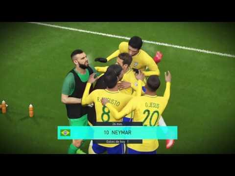Pes 2018 Beta // Gol olímpico // Neymar // PS4 // Chile