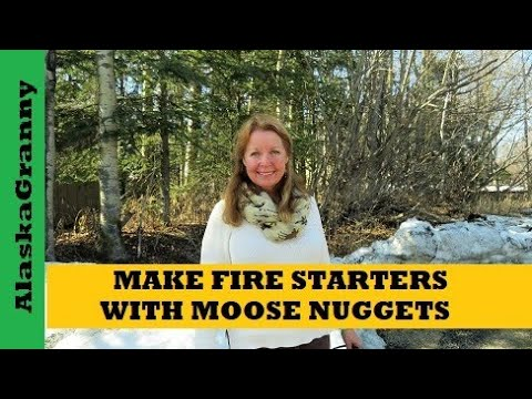 Fire Starters From Moose Nuggets