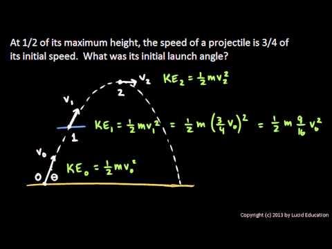 Physics - Tricky Projectile Problem