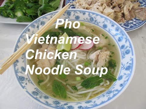 How To Make An Easy Pho/ Vietnamese Chicken Noodle Soup/ Recipe#129