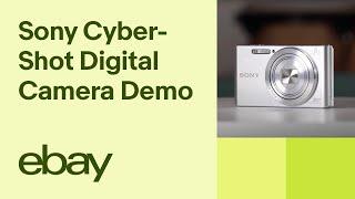 Sony Cyber-Shot DSC-W830 Digital Camera   eBay Top Products