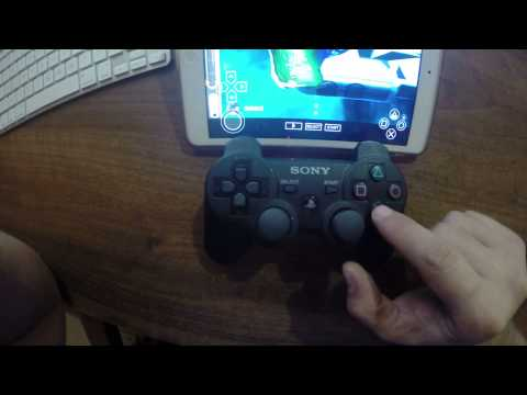 PSP on Ipad mini with PS3 Controller :)