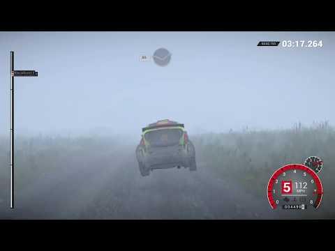 Intense fog: DiRT 4