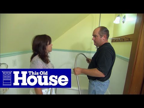 How to Add a Shower to a Claw-Foot Tub - This Old House
