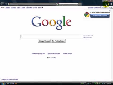 Learn About Internet Explorer 9 Browser -Intro