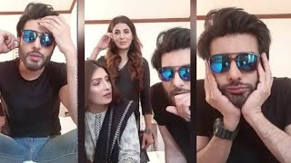 Imran Abbas was Asked Do you Wear Bra in front of Aiza Khan