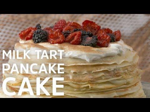 Milk Tart Pancake