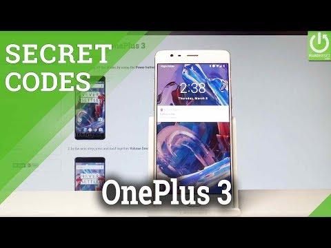 CODES OnePlus 3 - Secret Menu / Hidden Mode / Tricks