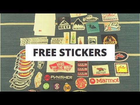 How To Get Free Stickers In Australia