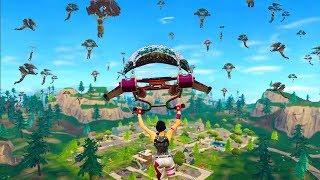 100 PLAYERS LAND AT PLEASANT PARK in Fortnite