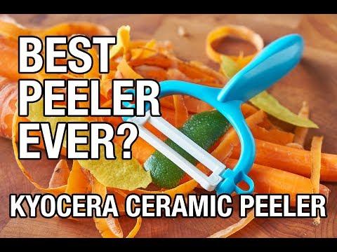 The Kyocera Ceramic Peeler. Best Peeler Ever?
