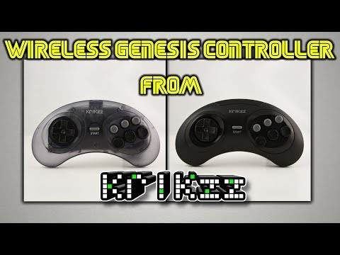 NEW Wireless Sega Genesis/Megadrive Controller From Krikzz!