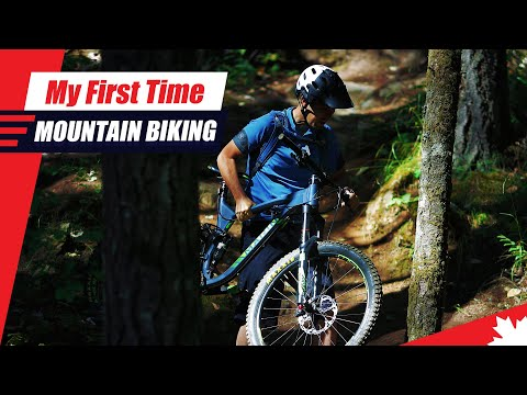 Trying To Jump My Mountain Bike