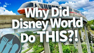 Why Did Disney World Do THIS?!