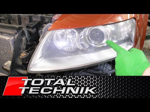 How to Remove Headlights - Audi A6 S6 RS6 - C6 4F - 2004-2011 - TOTAL TECHNIK