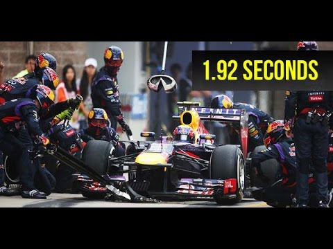 F1 Top 10 Fastest Pit Stops of 2016 | World Record