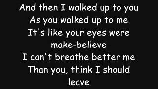 Thousand Foot Krutch: Complicate You (lyrics)
