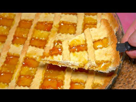 Crostata alla Marmellata [Video 4K] - Easy Italian JAM Tart Recipe