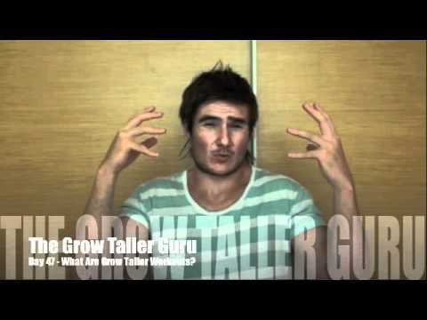 What Are Grow Taller Workouts?
