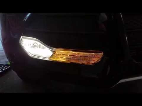 2013-2016 Ford Escape - Testing Front Turn Signal & Fog Light After Changing Bulbs