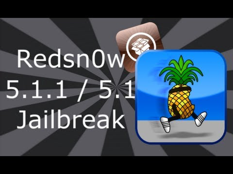 Redsn0w Jailbreak iOS 5.1.1 For iPhone 4S, 4, 3GS, iPad 3, 2, 1 & iPod Touch 4, 3