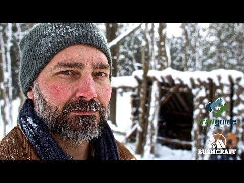 Bushcraft: Building a Camp Shelter in Winter
