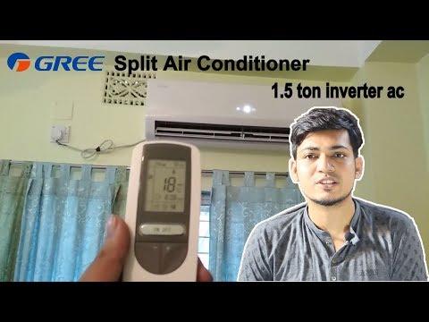 Gree Split Air Conditioner review (GSH-18VV410/1) 1.5 ton inverter ac