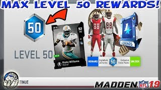d365077d8 LEVEL 50 MAX MUT LEVEL! 92 OVR RICKY WILLIAMS! GLITCHY EA UNIFORMS!
