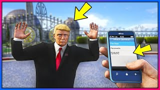 What happens if you call SWAT on Mr President?! (GTA 5 Mods)