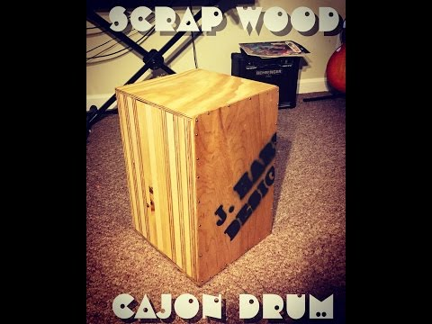 Making a Cajon Drum (completely from scrap wood)