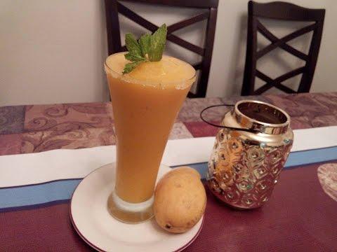 MANGO SLUSH (Mango With Ice)(URDU/HINDI) BY SEHAR SYED
