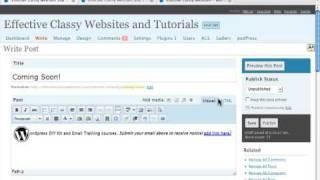 Sidebar Widgets in Wordpress - How To Edit and Create - ...