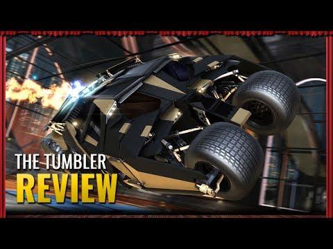 DRIVING THE NEW TUMBLER BATMOBILE! | Rocket League