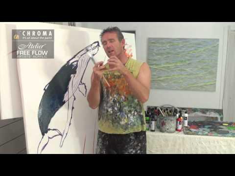 Chroma Promo - Free Flow Acrylic Paint