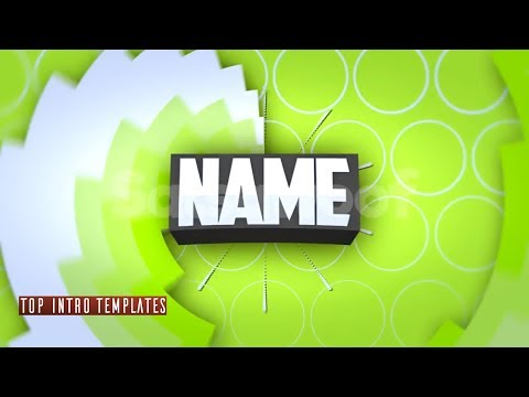 TOP 10 2D INTRO TEMPLATES 2018 FAST RENDER | BLENDER INTRO TEMPLATES GAMING, AFTER EFFECTS, PANZOID