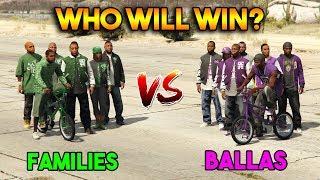 GTA 5 ONLINE : FAMILIES VS BALLAS (WHO WILL WIN?)