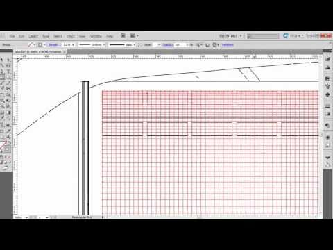 Video 13 Basic Drawing // The Grid [Adobe Illustrator CS5]
