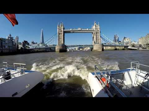 River Taxi trip on the Thames