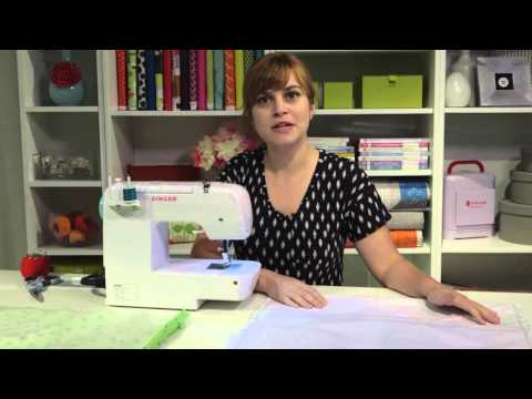 SINGER® 1234 Sewing Machine - Tote Bag Tutorial