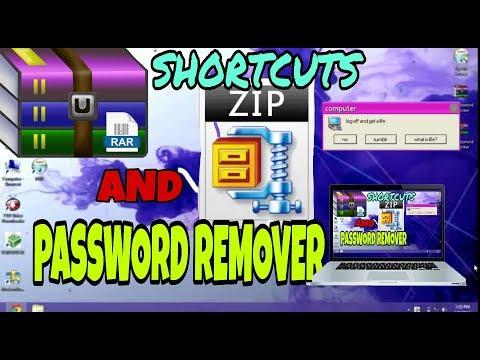 RAR & ZIP PASSWORD REMOVER ♒ SHORTCUTS