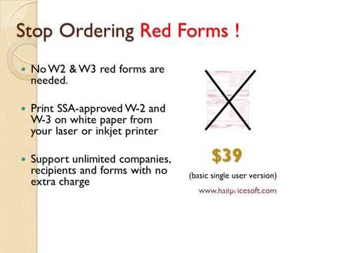 How to Prepare and Print W2 Form for Year 2014