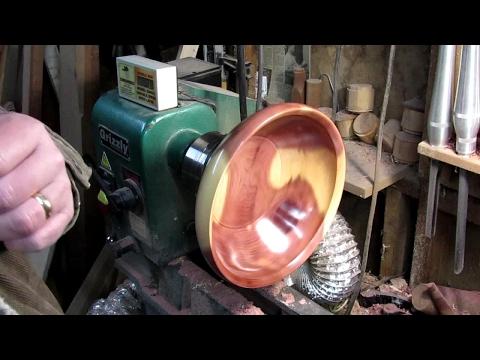 #126 Woodturning an 11 inch Red Cedar Bowl