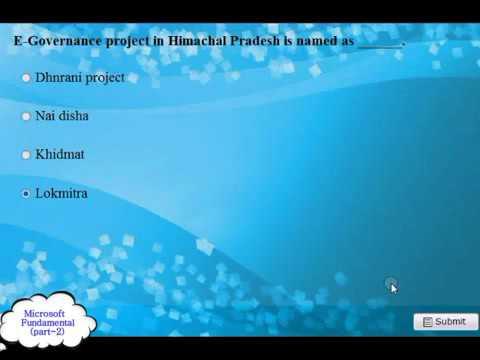 Microsoft Fundamental Practice 200720102013 2014 Exam Q and A pt 2