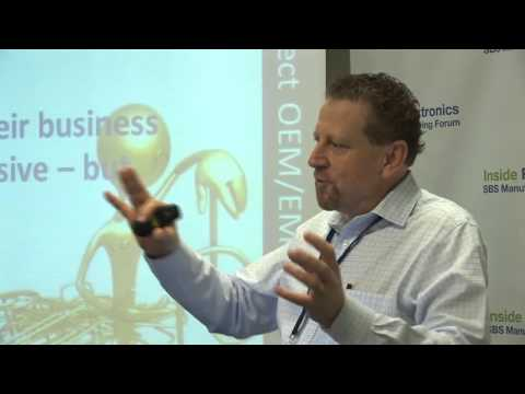 Ron Keith talks 'relationships' at Inside Flextronics Columbia