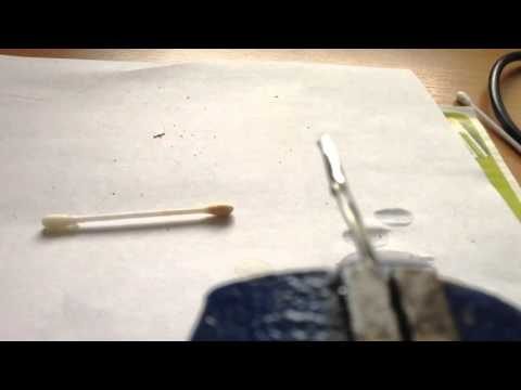 How to solder two aluminum wires