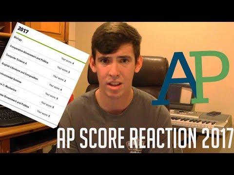 AP SCORE REACTION 2017 // FUTURE YALE STUDENT